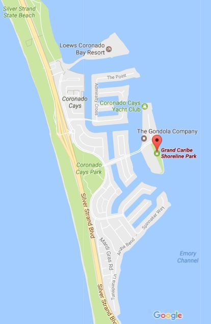 Shoreline Resort Map : shoreline, resort, Grand, Caribe, Shoreline, Coronado, Times