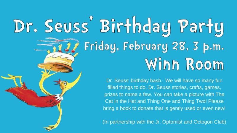 dr seuss birthday party coronado times