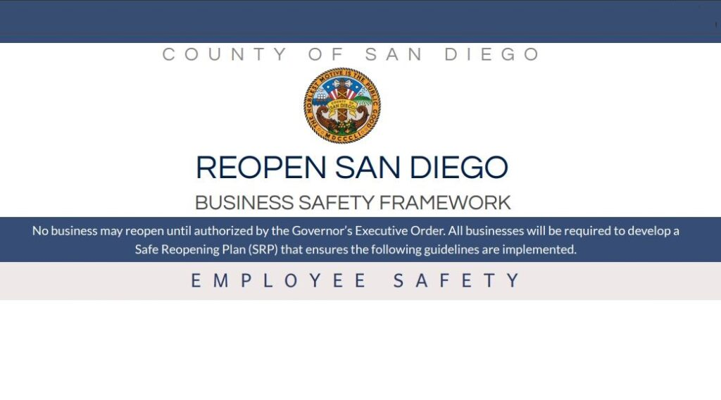 County Outlines Phased Re-Opening of Some Businesses | Coronado Times
