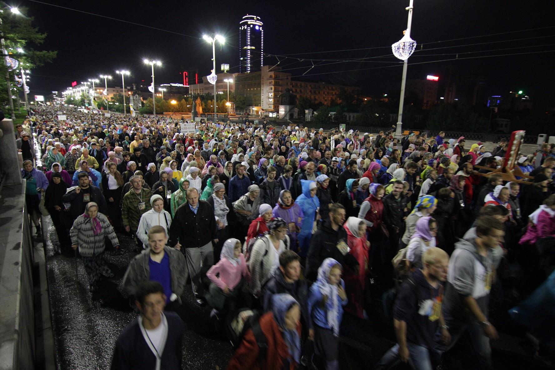 Zehntausende gedenken in Ruland der ermordeten