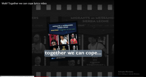 "Sierra Leone: returnees produce music video ""Together we can cope"" to continue to prevent the spread of Coronavirus"