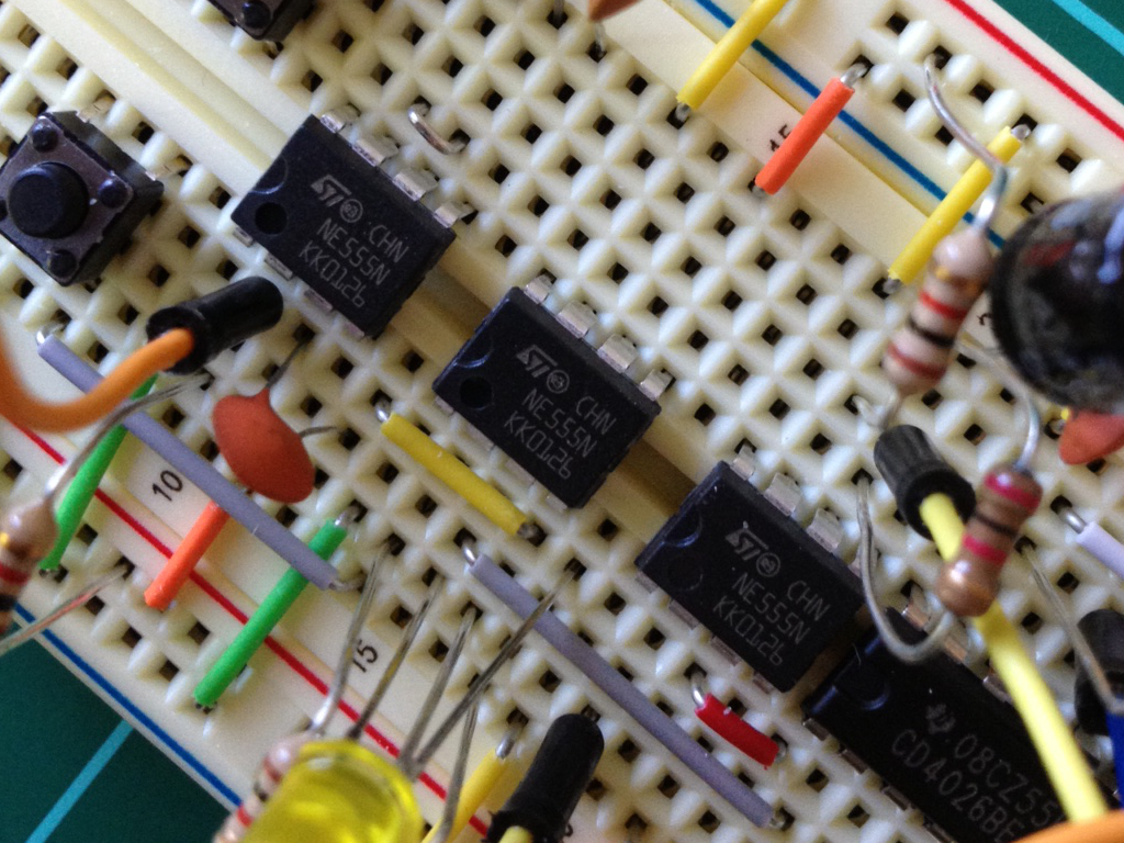 Electronic Toy Piano Using 555 Timer Ic Toy Organ Circuit
