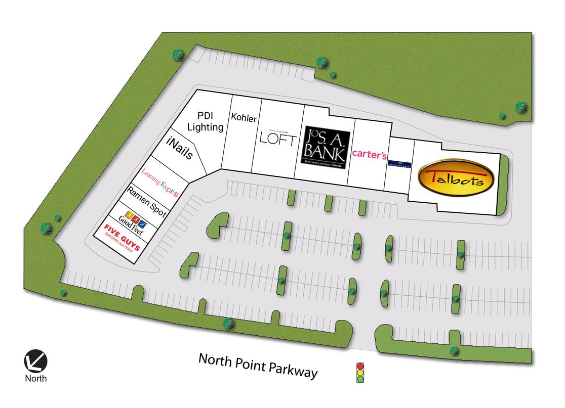 Alpharetta Ga North Point Village  Retail Space For