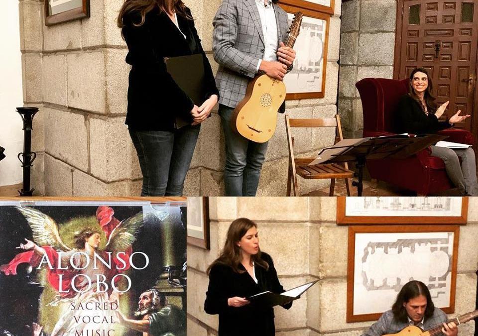 Lobo: Sacred Vocal Music Presentación oficial del CD