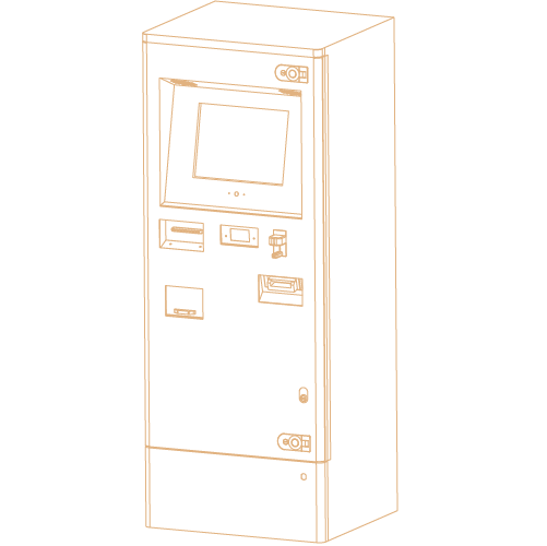 Outdoor Bill Pay Kiosk