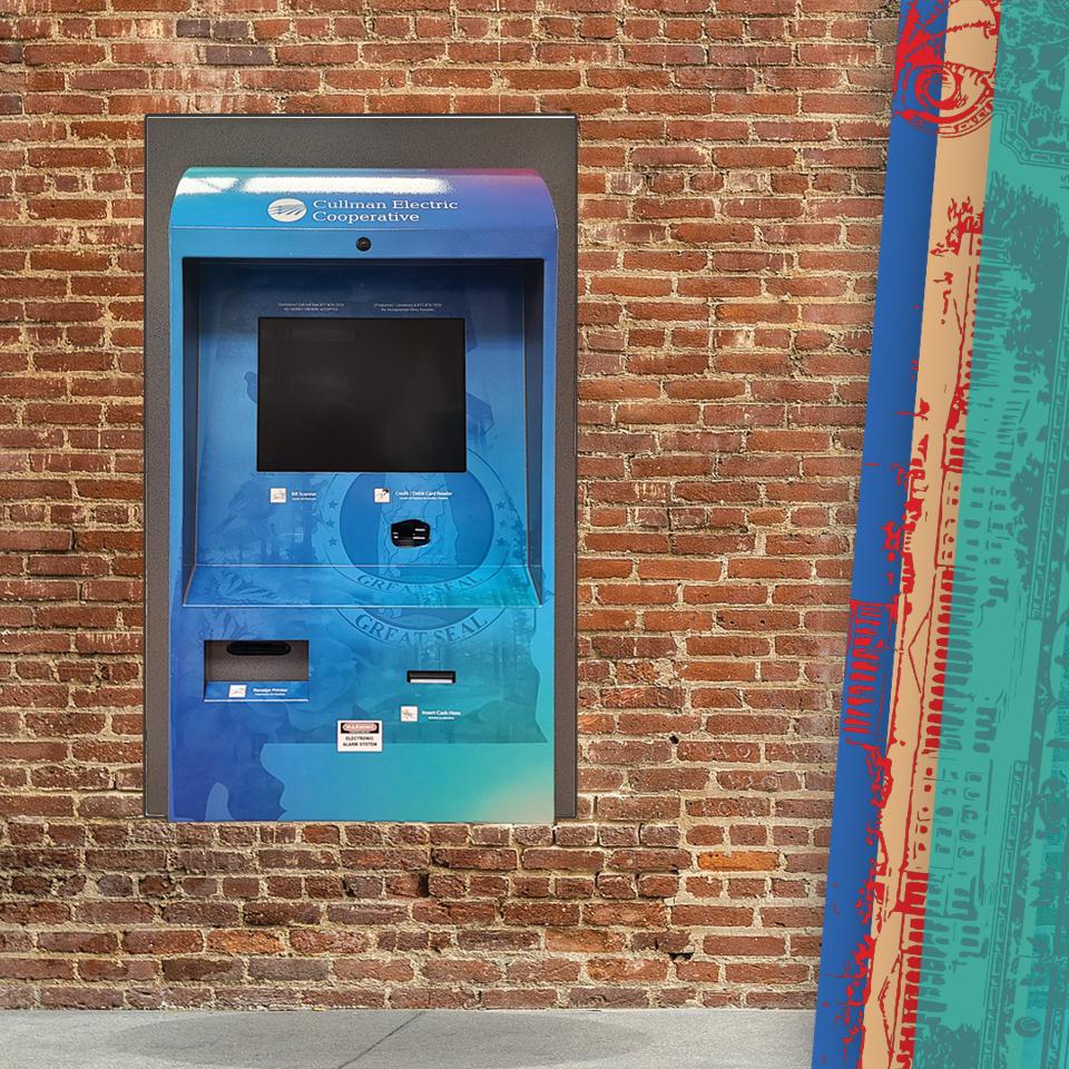 Outdoor Bill Payment Kiosk