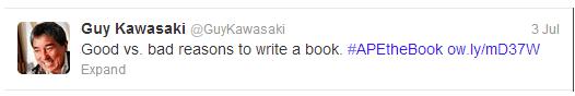 tweet example