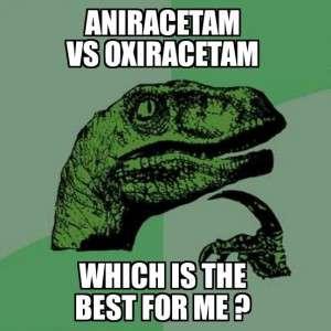 Aniracetam vs Oxiracetam