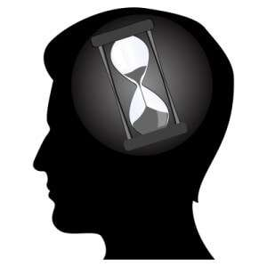 man is thinking and waiting for the effects of modafinil (provigil)