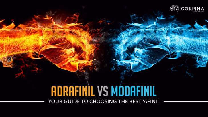 what is the difference between adrafinil and modafinil
