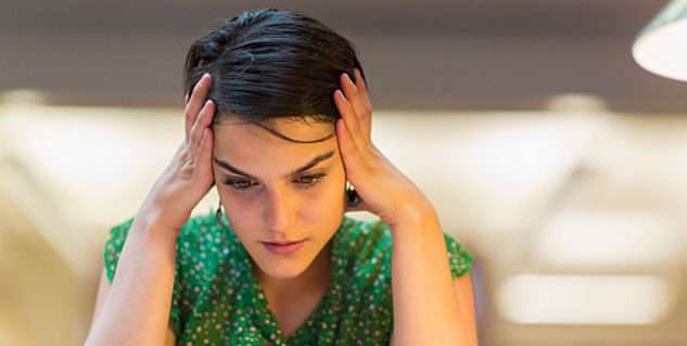 long term, chronic stress leads to anxiety and depression