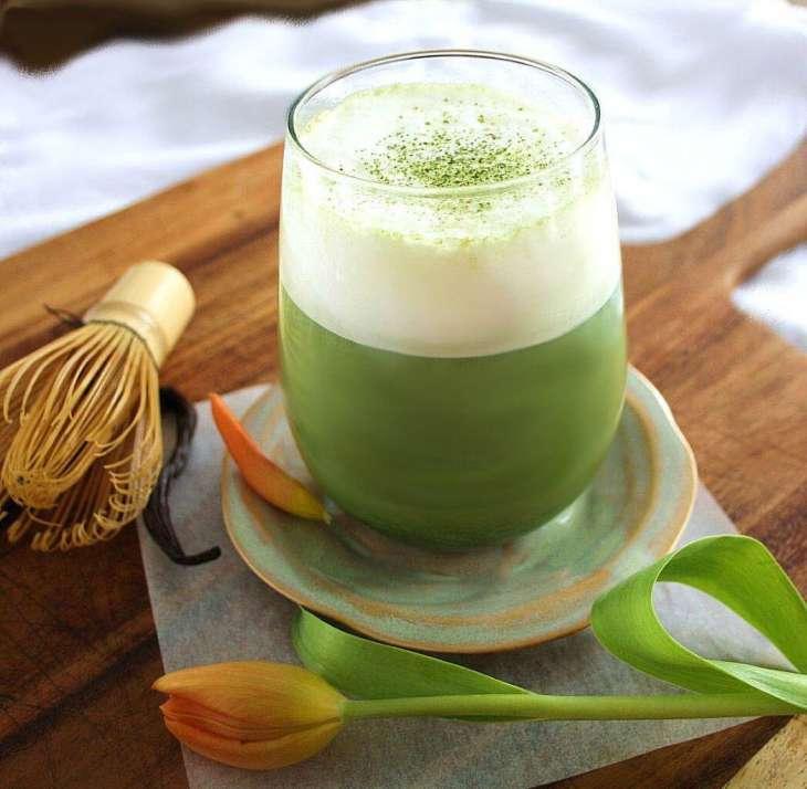 matcha green tea has benefits for the brain