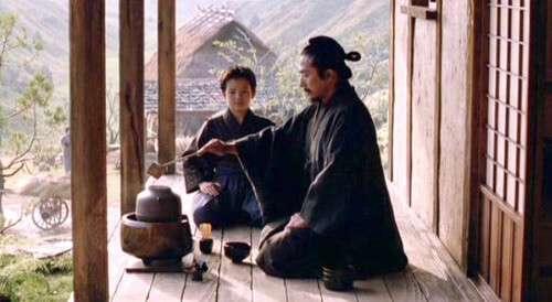 samurais used matcha green tea to focus before battle