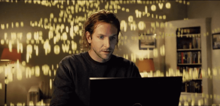 picture of limitless movie, asking if modafinil is a real life limitless pill