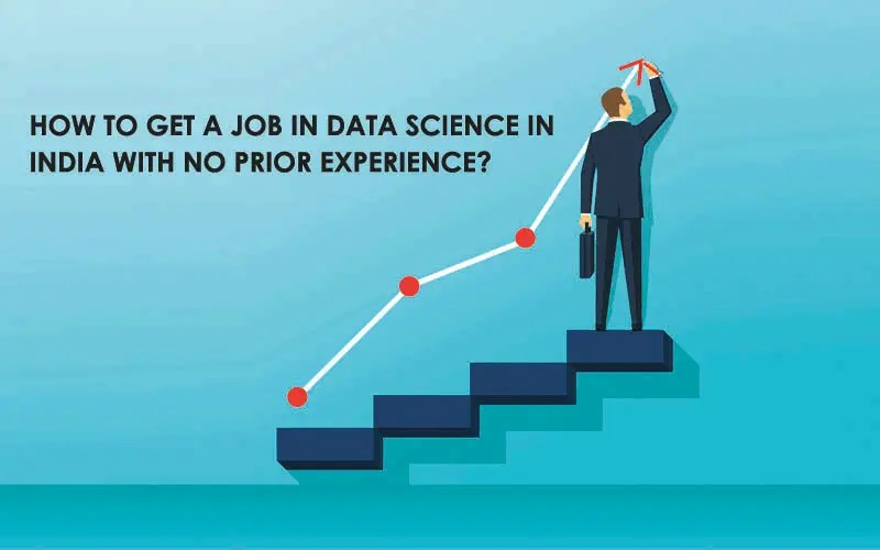 how to get a job in data science in India with no prior experience