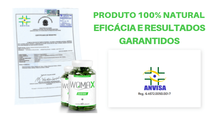 Registro Womax Anvisa