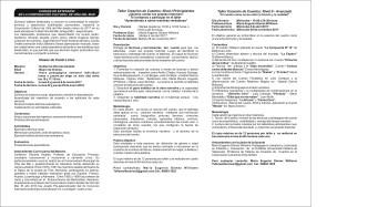 Cursos de Extensión 2017 contraportada
