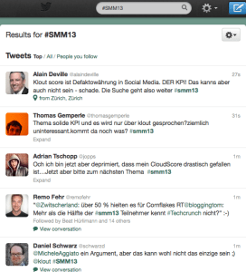 screenshot vom stream #smm13