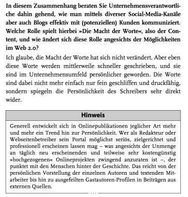 """Auszug aus dem Interview """"Macht der Worte"""""""