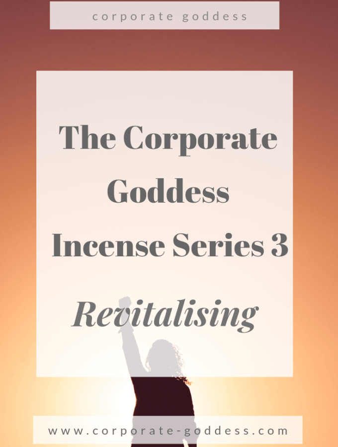 The Corporate Goddess Incense Series - Revitalising Incense