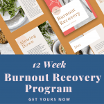 The 12 Week Burnout Recovery Program