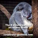 Quick and easy way to relieve work stress