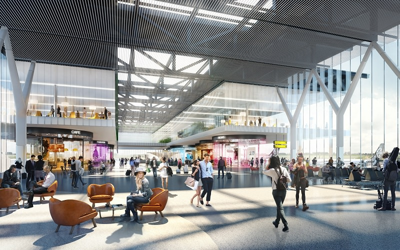 Team chosen to lead design of new combined terminal