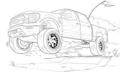 Ford for Kids Activity Book