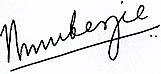 Nivedita Mukerjee Sign
