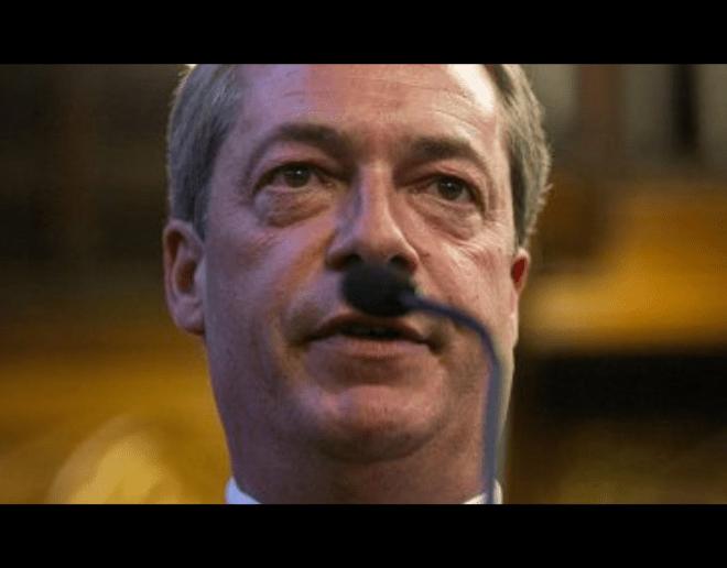 Corporate Christ - Nigel Farage