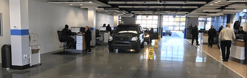 Car Dealership Showroom Cleaning in Grand Rapids