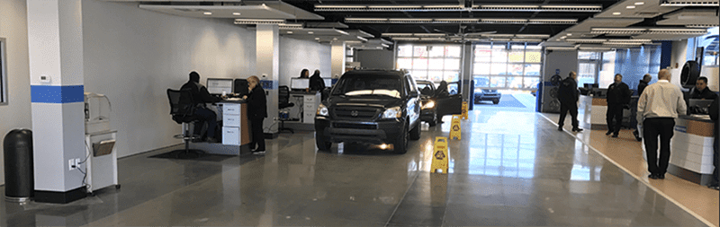 Car Dealership Showroom Cleaning in Grand Rapids