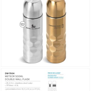 Meteor 500ml  Double-Wall Flask