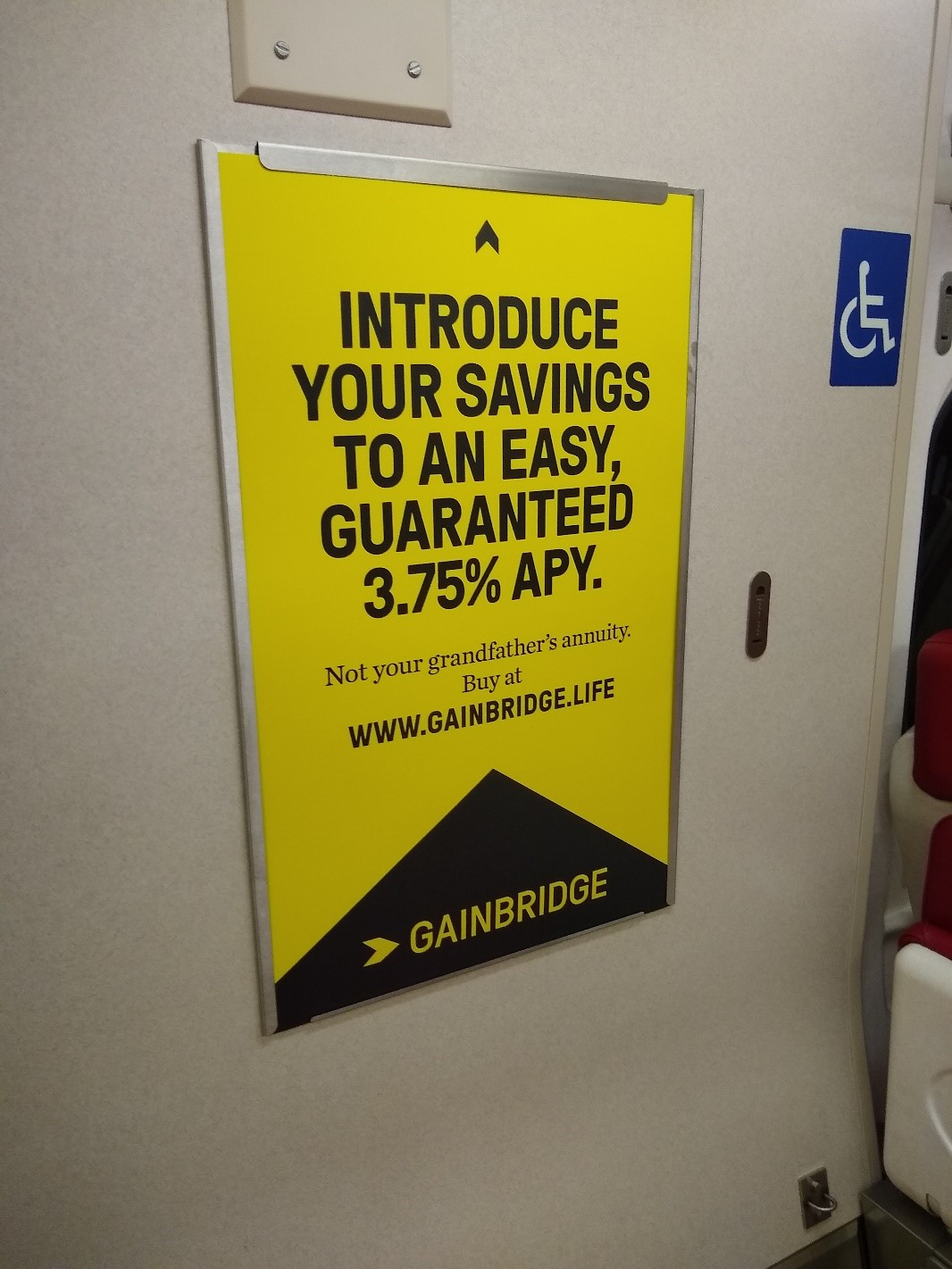 Gainbridge Metro-North Ad
