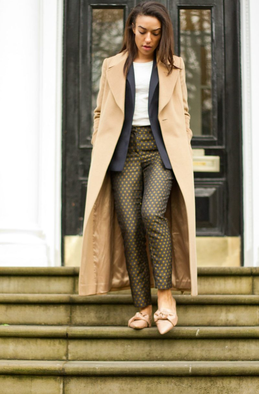 corporate-style-story-zara-printed-trousers-jcrew-logo-tee-reiss-navy-blazer-zara-bow-shoes-jaeger-camel-coat-1-2-800x1214@