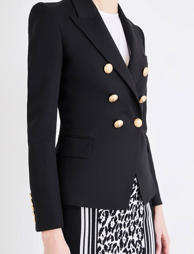 How-to-wear-a-double-breasted-blazer-corporate-style-story-Balmain-Double-Breasted-Blazer