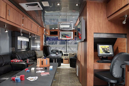 Airstream SkyDeck Corporate Tailgate