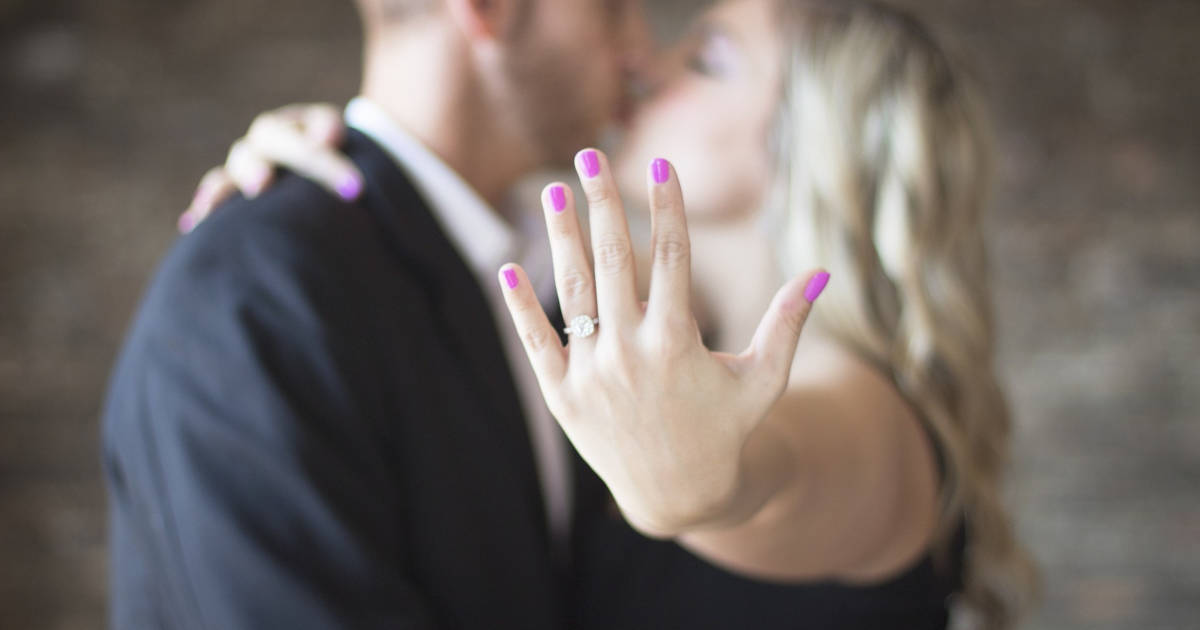 upgrading an engagement ring etiquette