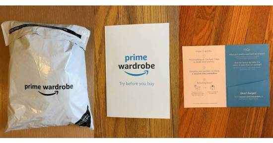 review of Amazon Prime Wardrobe