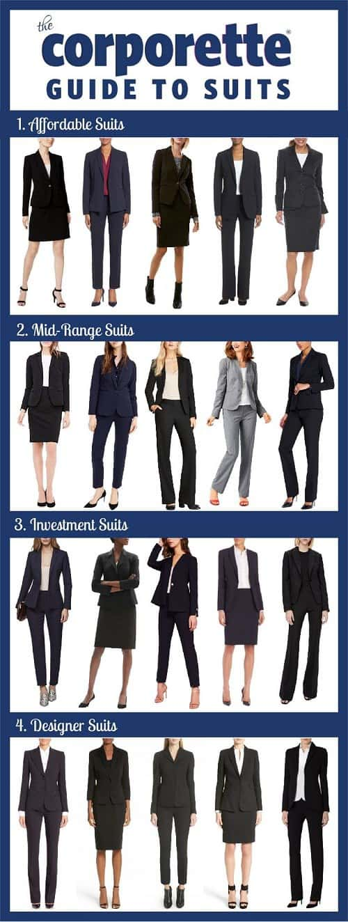Guide To Women S Suits