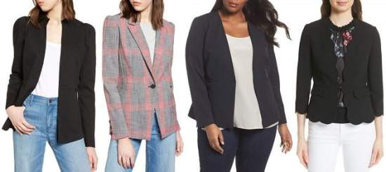 nordstrom half yearly sale 2018 - blazers for women