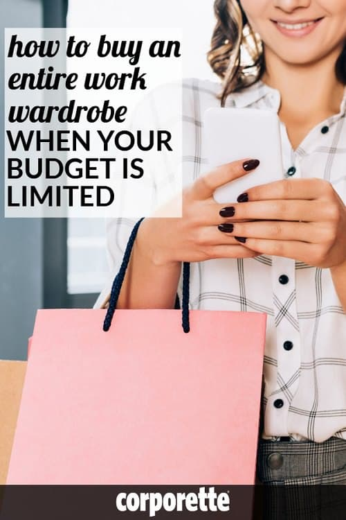 It's a really common problem if you're just starting a new job or internship: you're hunting for affordable office attire and wondering how to buy an entire work wardrobe with no money or an extremely tight budget. We rounded up our best tips for buying a work wardrobe on a tight budget, a mini shopping list for your initial shop, a few notes on quality vs quantity, and suggestions of the best work stores for affordable office attire.