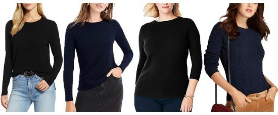 Great Cashmere Sweaters for Work