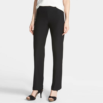 best pants for work - Eileen Fisher