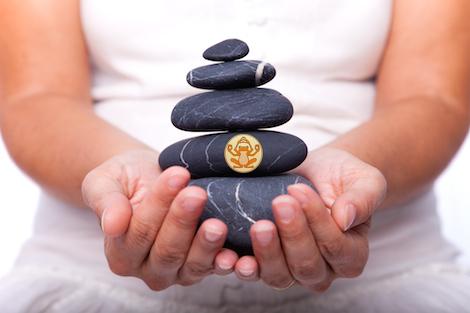 Pierres zen CorpoSano équilibre santé bonheur