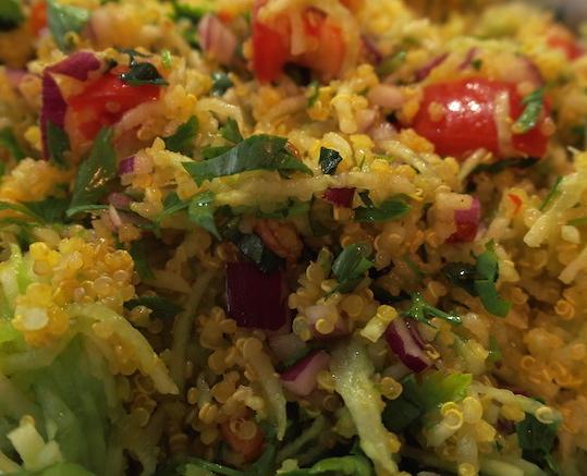 salade taboulé quinoa menthe