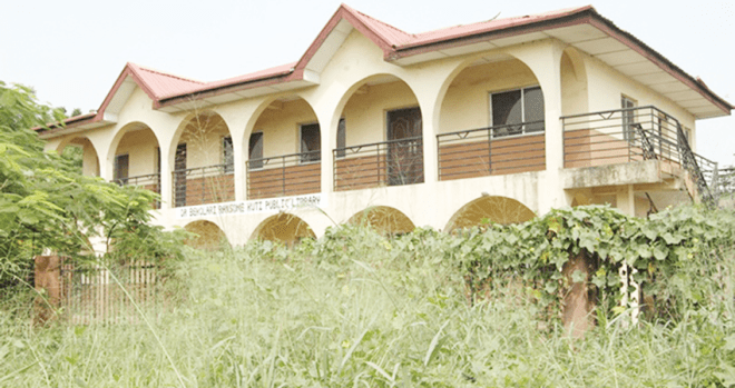 Abandoned Oshodi-Isolo Library