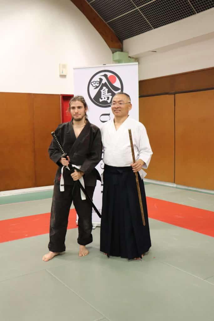 Photo avec matsuba sensei