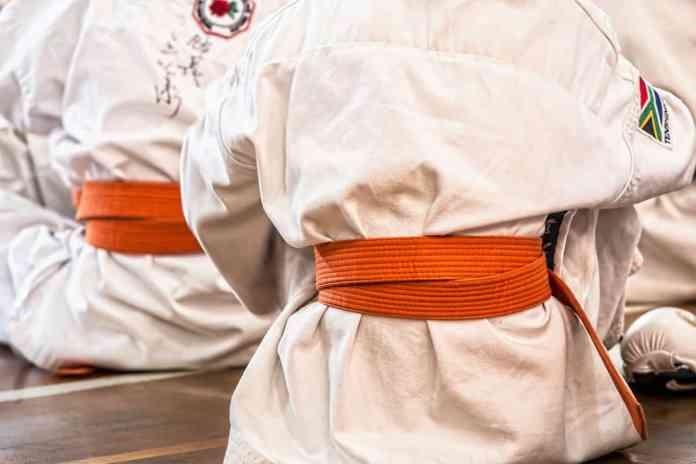 Karatekas de dos