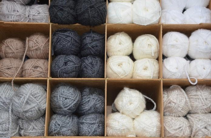 Boîtes de laine